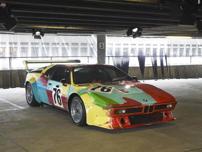 Andy Warhol BMW M1 Art Car 3