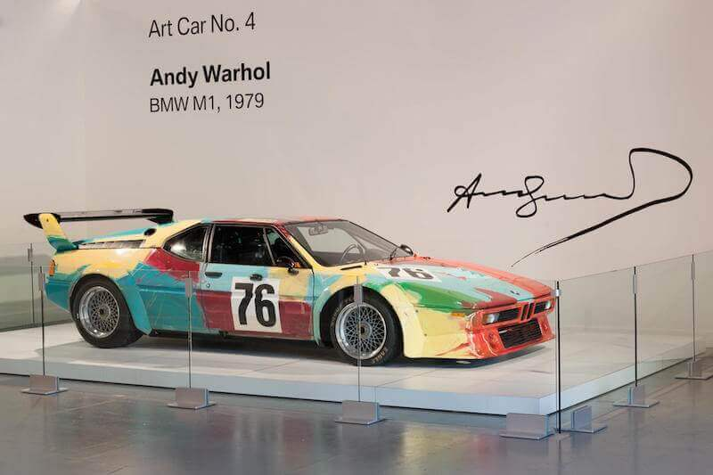 Andy Warhol BMW M1 Art Car 5
