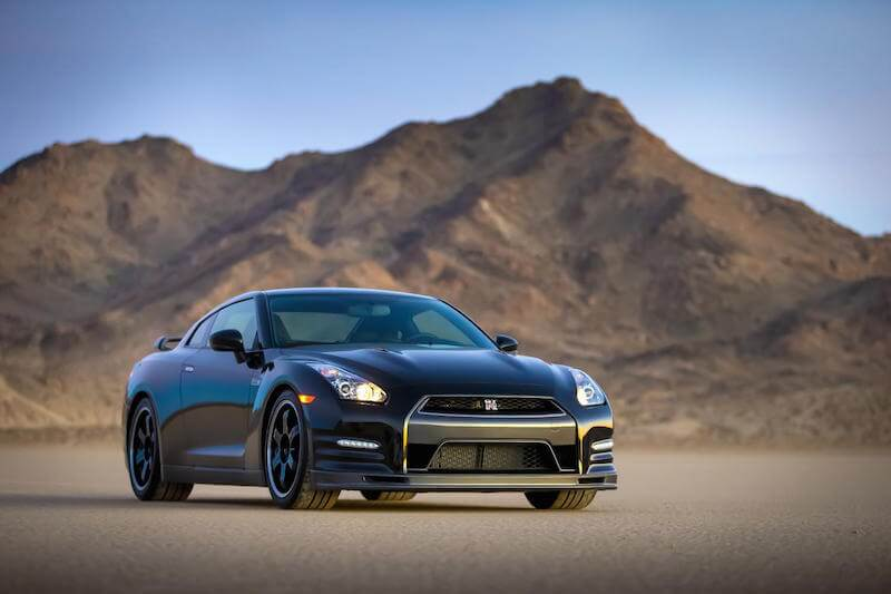 2014 Nissan GTR Track Edition from the front