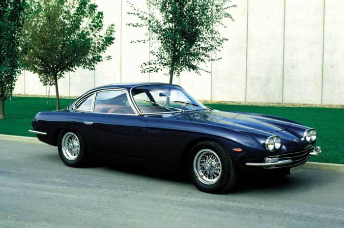 Profile of the Lamborghini 400 GT