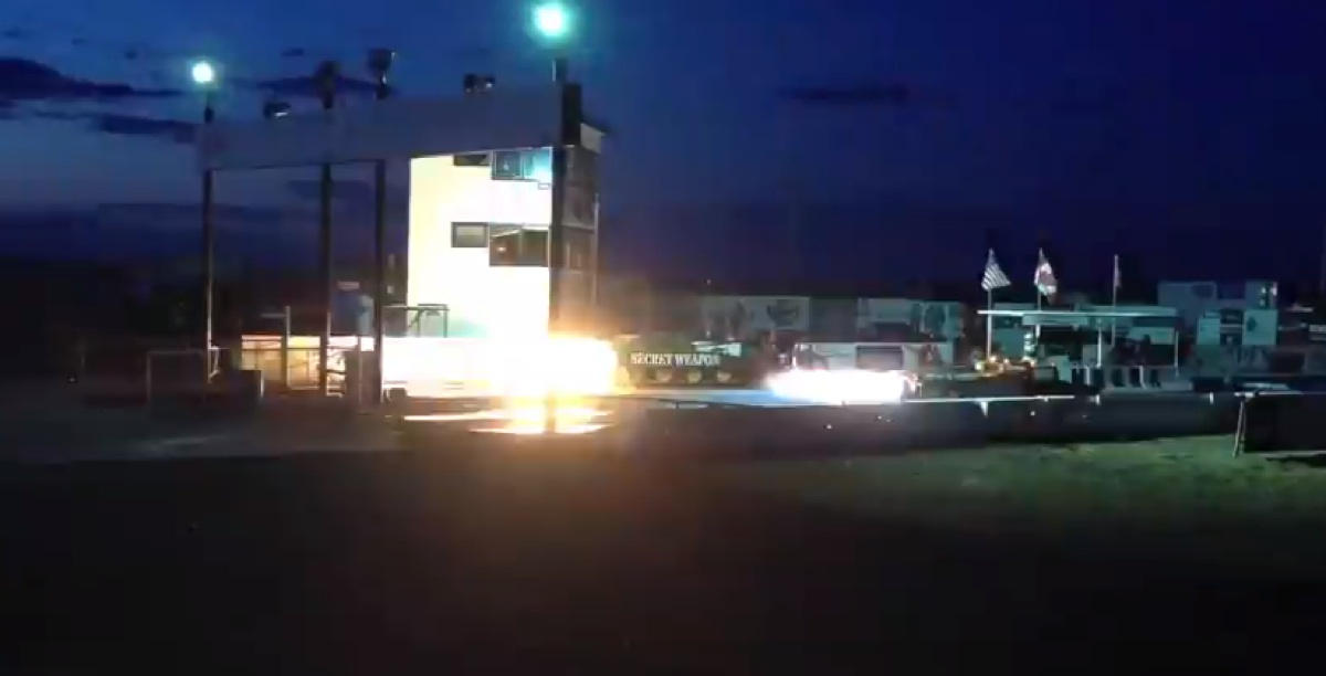 Awesome jet car drag racing