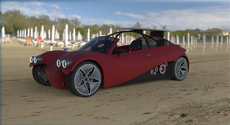 This Is What The First 3D Printed Car Could Look Like