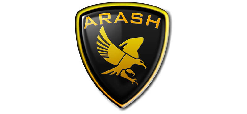 Large Arash logo