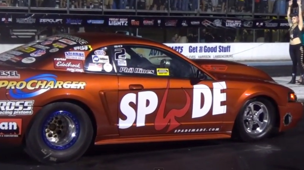 Some great drag racing at Edgewater (video)