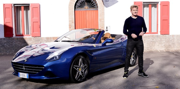 Gordon Ramsay Ferrari Californai T 1