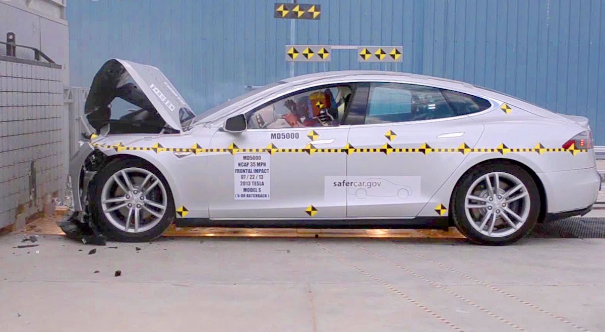 Tesla Model S Safety Test