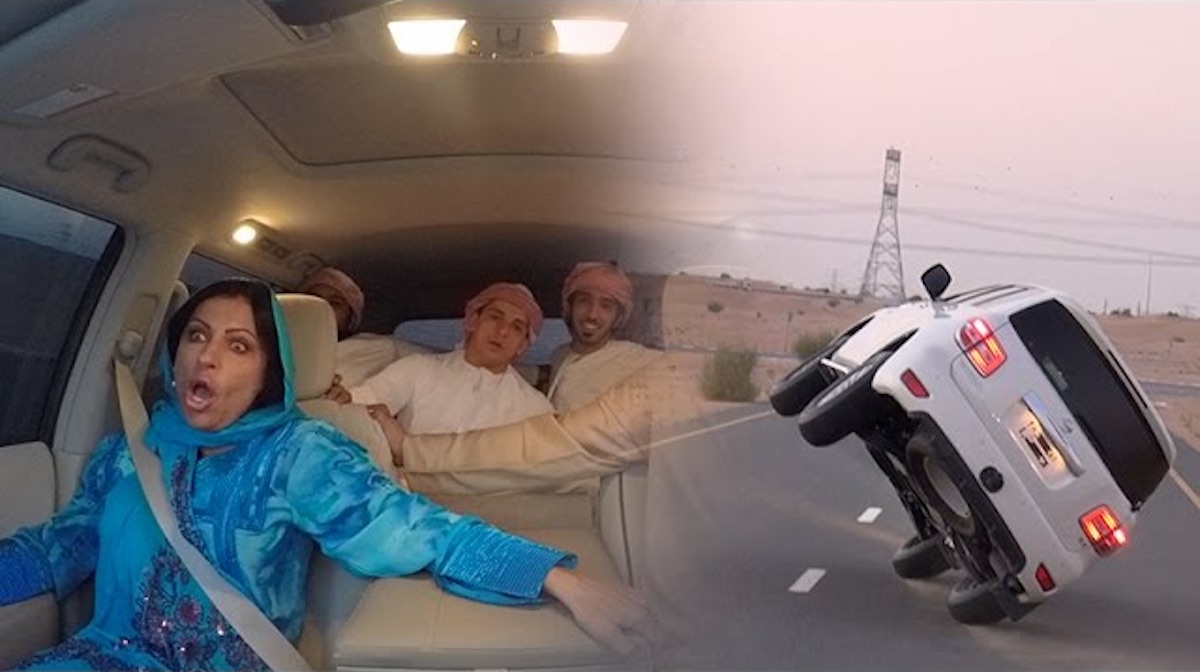 Watch This Guy Prank His Mum With The Ultimate Car Stunt