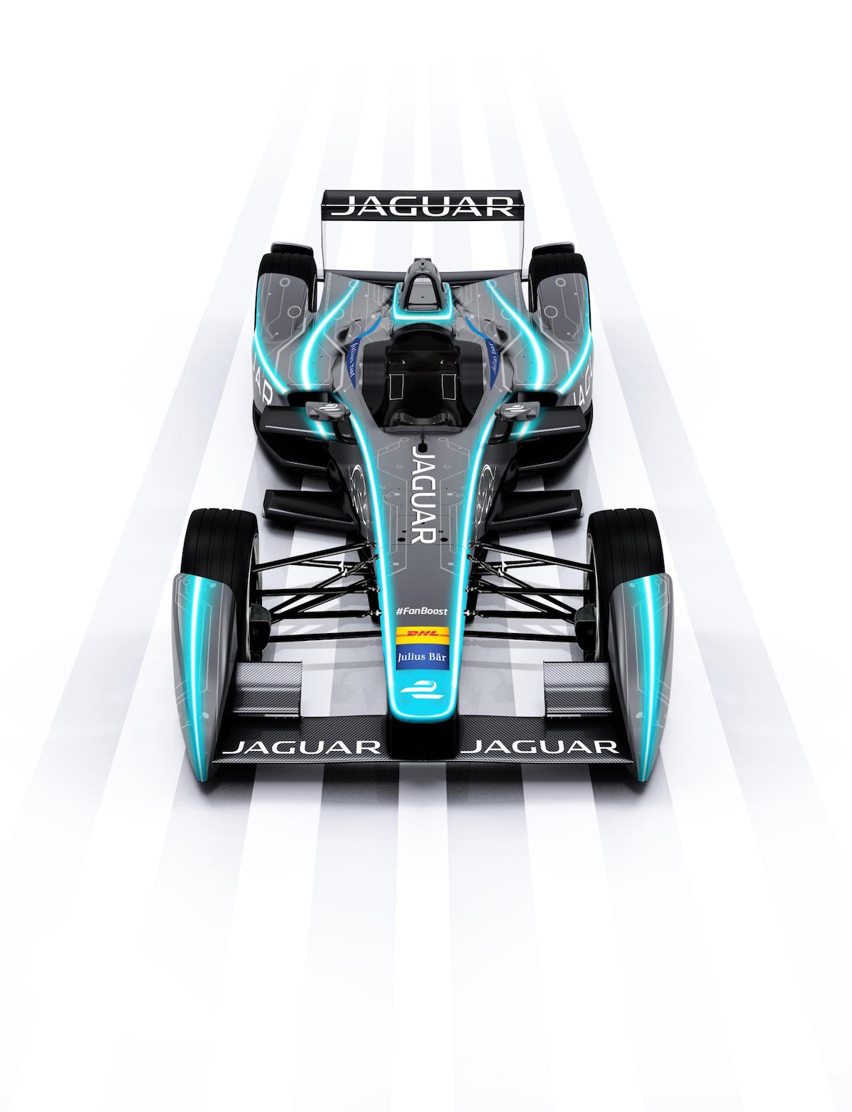 Jaguar Formula E Car 3