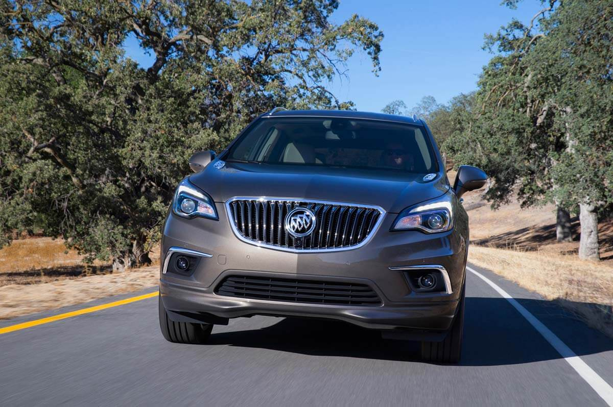 2016 Buick Envision Driving Front
