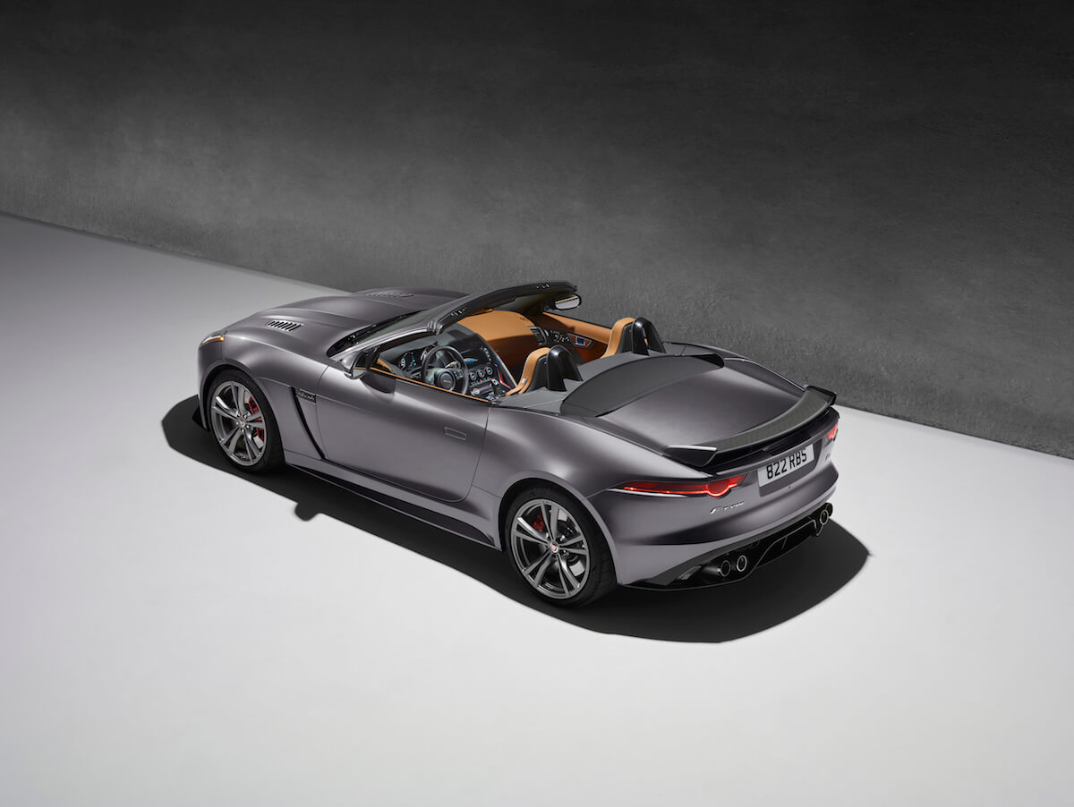2017 Jaguar F-Type SVR Convertible and Coupe 1