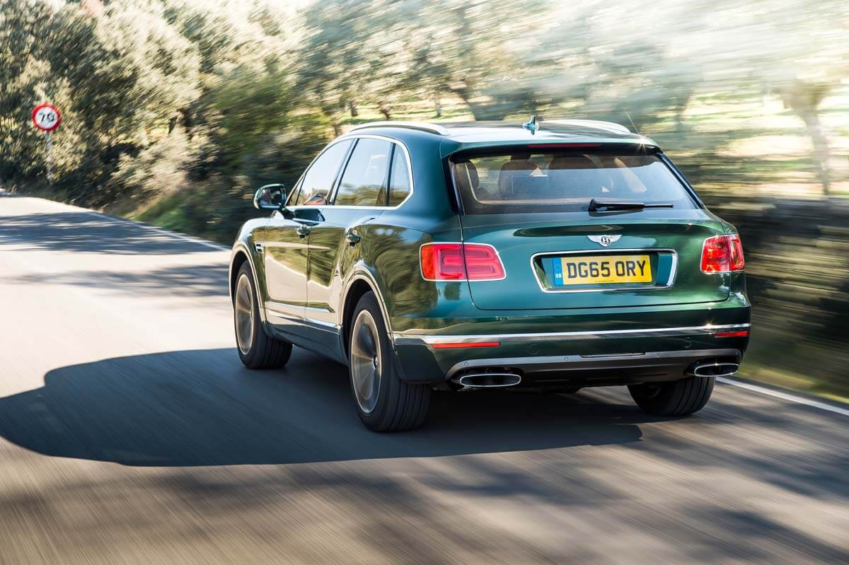 Bentley Bentayga, Southern Spain, November 2015 Photo: James Lipman