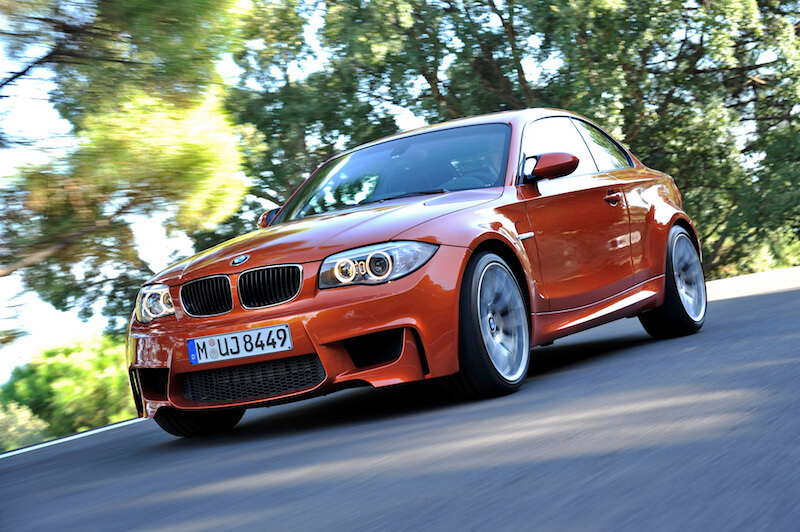 BMW 1 Series M Coupe Exterior. (12/2010)