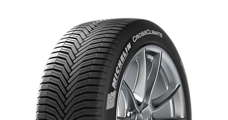 The Michelin CrossClimate tire. Pic credit: Michelin