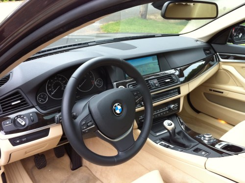 small resolution of the 535i i tested was equipped with over 15 000 worth of optional equipment among those was bmw s active blind spot detection system which is designed to