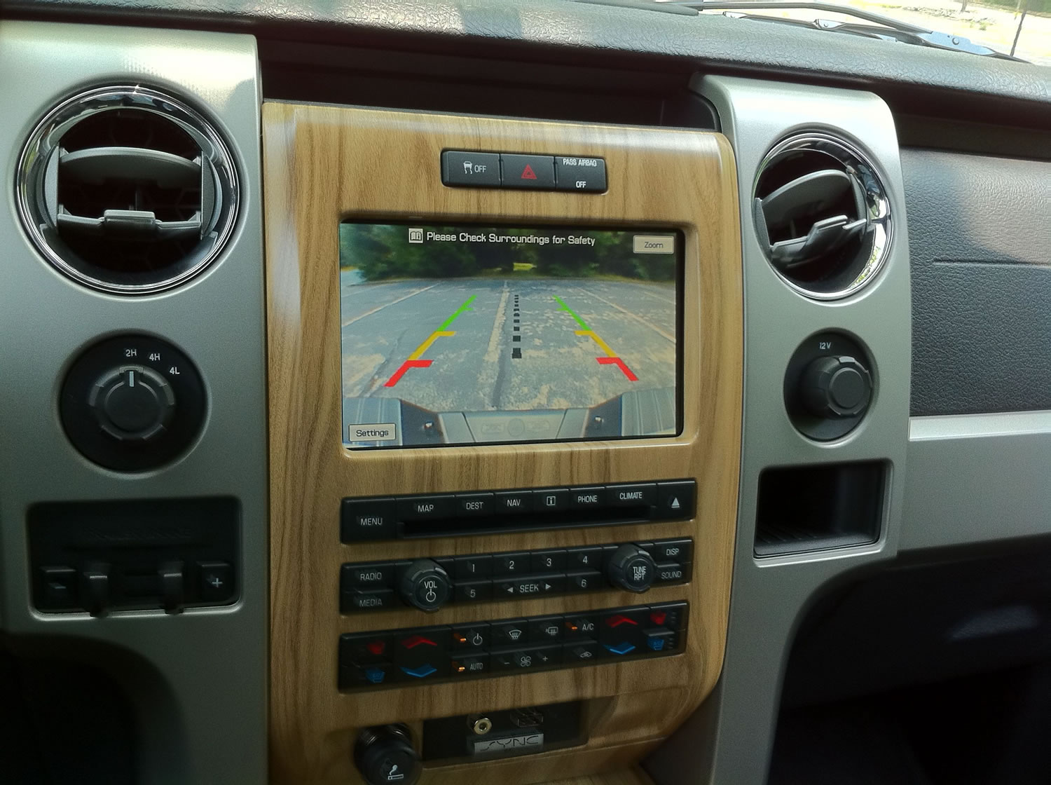 hight resolution of f 150 navigation interface