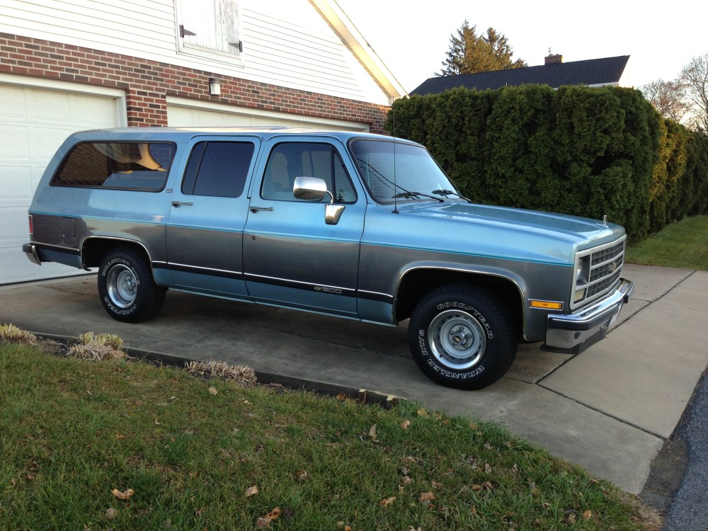 medium resolution of capsule review 1989 chevrolet suburban 1500 4x2 autosavant autosavant
