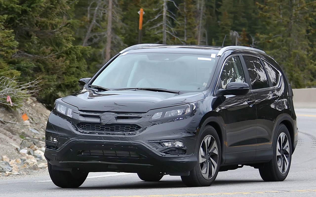 2018 Honda CR V Spied AutosCommunity