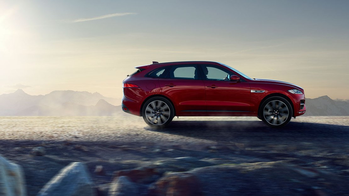 2017 JAGUAR F-PACE FIRST TEST