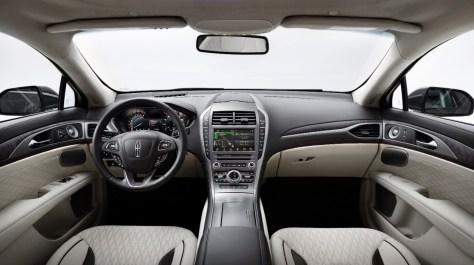The 2017 Lincoln MKZ -Interior