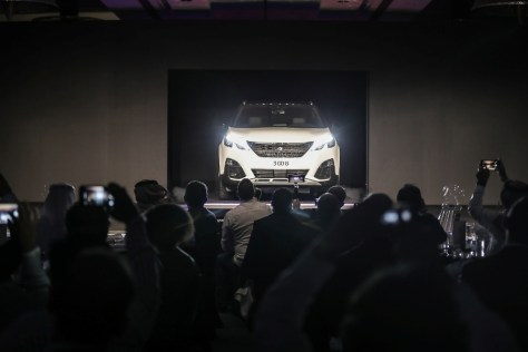 The all-new PEUGEOT 3008 SUV