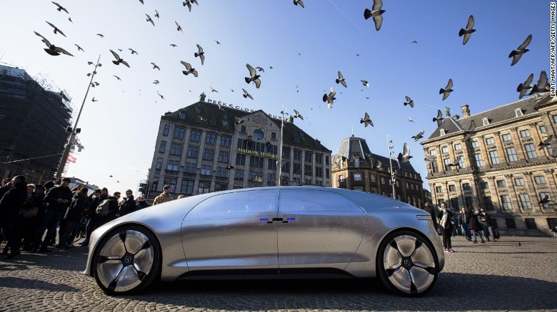 A one-of-a-kind ride in Merc's autonomous car