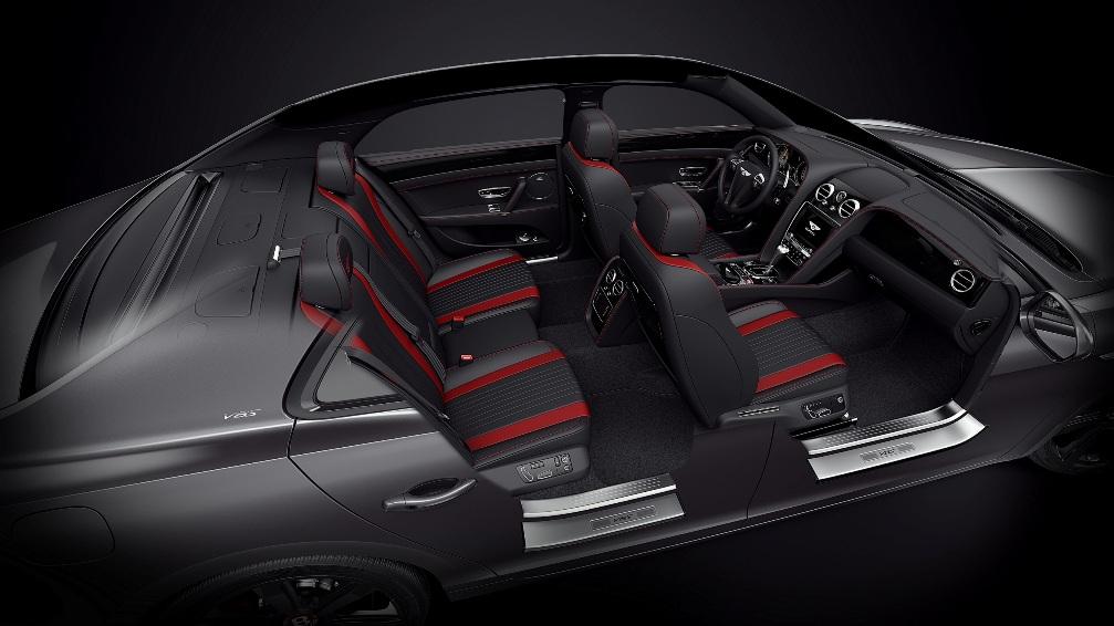 Bentley Flying Spur V8 S Black Edition Interior Autoscommunity