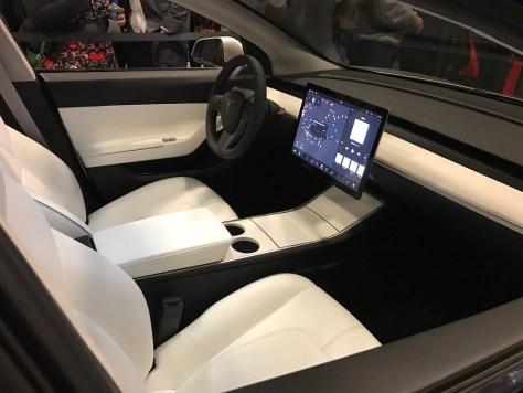 Tesla Model 3-Interior