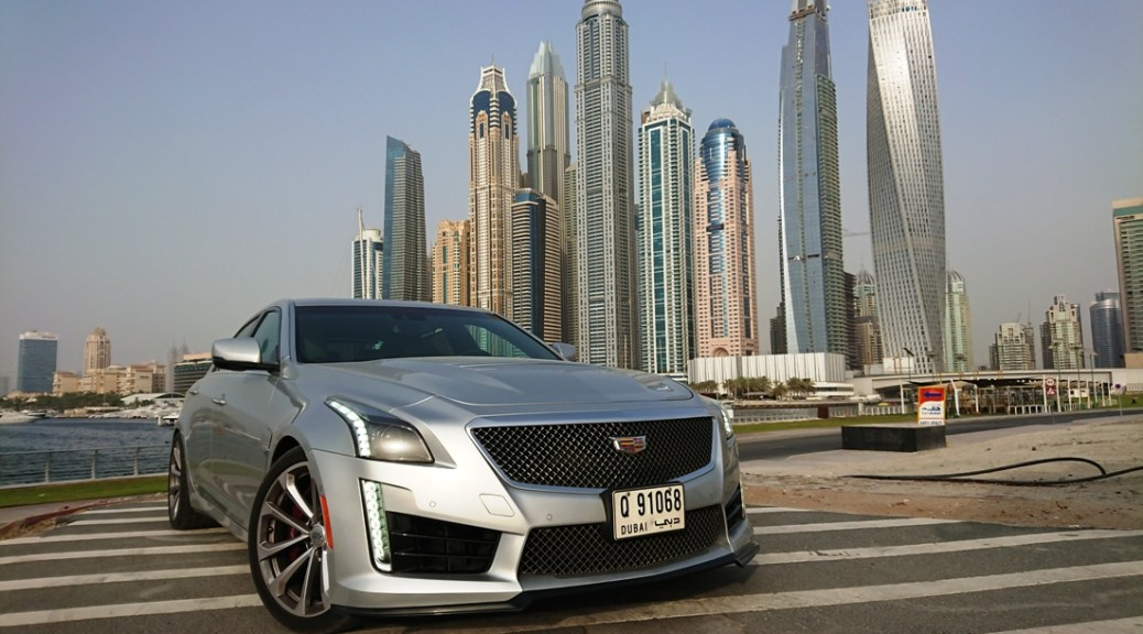 The New Cadillac CTS-V on Course to Match the Racing Pace