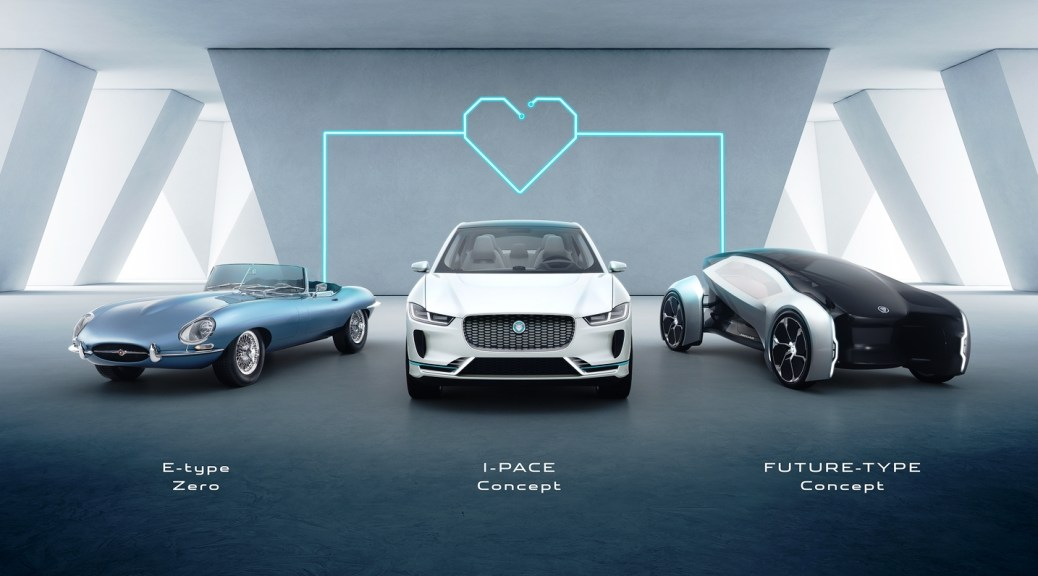 Jaguar's past, Present and Future Models Will Be Electrified