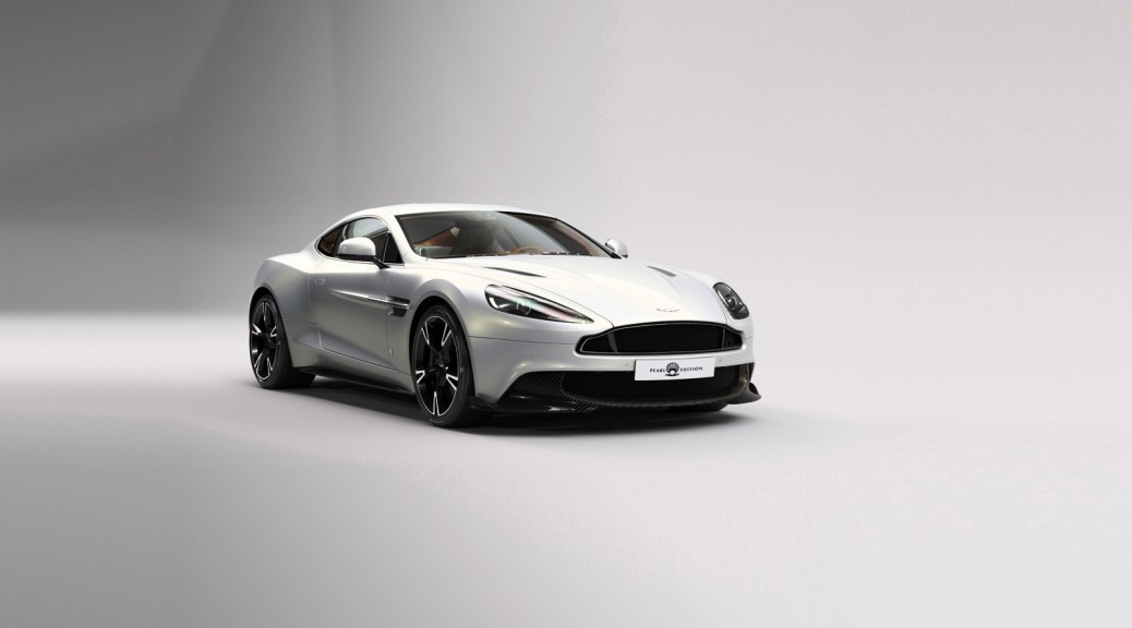 The Aston Martin Vanquish S Pearl Edition A Bold Showcase of the Bespoke Personalization by Aston Martin