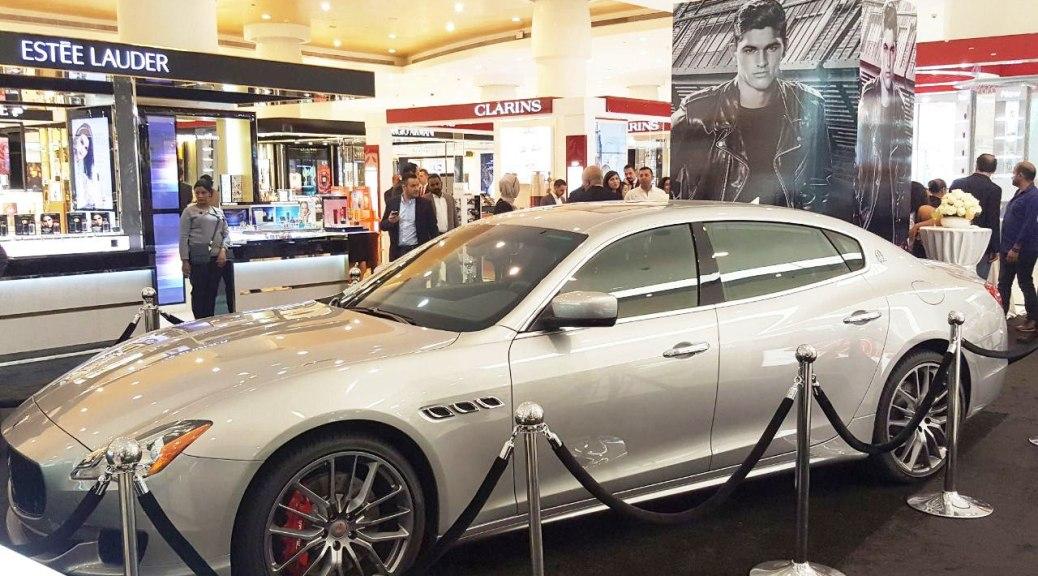 Paris Gallery Announces the Winner of the Maserati Quattroporte GTS