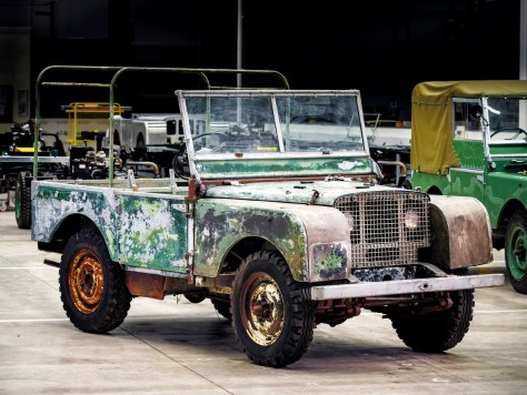 Land Rover's 70th Anniversary Begins With the Restoration of 'Missing' Original 4X4