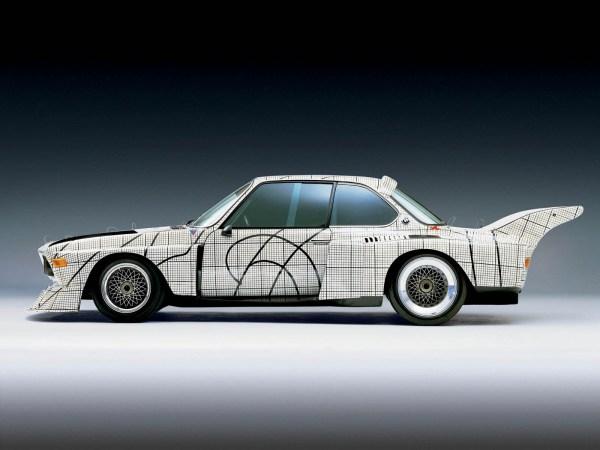 Frank Stella Art Car