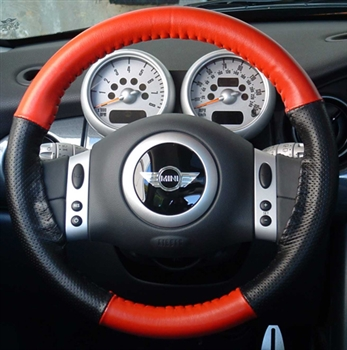 Wheelskins Leather Steering Wheel Covers  AutoSeatSkinscom