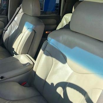 GMC Yukon Katzkin Leather Seats (3 passenger front seat