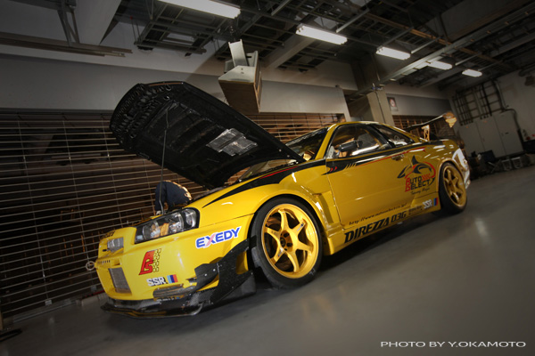 R34 GTR Yellow Shark  About us  Demo Car Archive  GTR