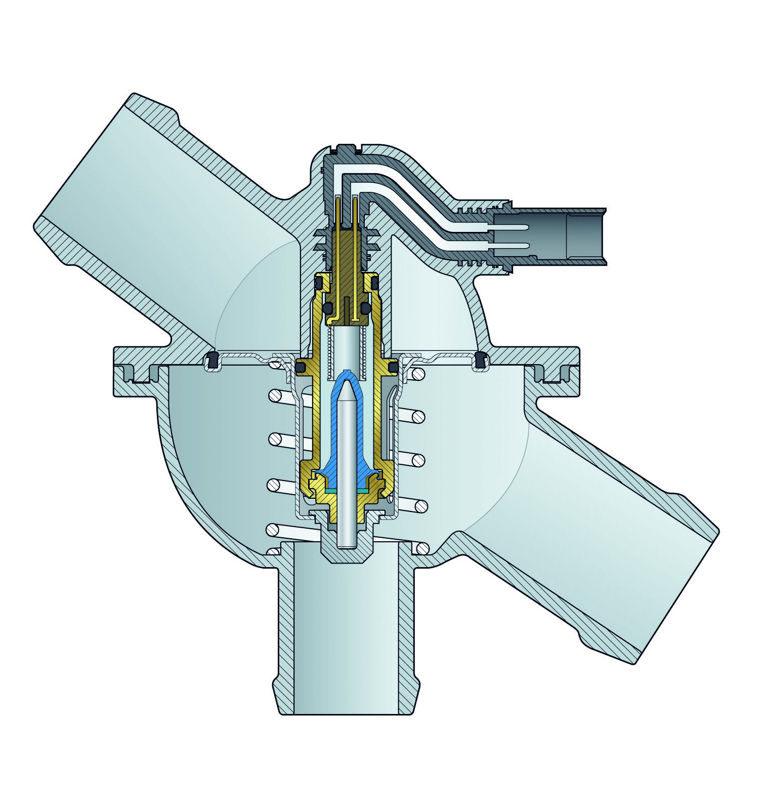hight resolution of reverse flow cooling system engine diagram