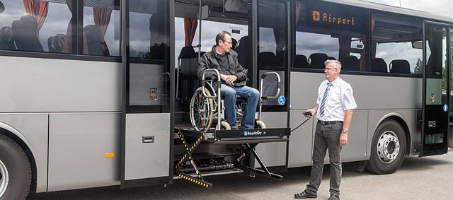Noleggio Autobus per disabili