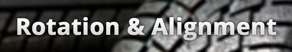 Tire Rotation  & Alignment Services Escondido, CA