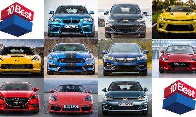 Os 10 melhores carros de 2017