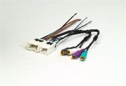 2008 Infiniti Wiring Diagrams Metra 70 7551 Bose Amp Wire Harness Car Stereo Kits