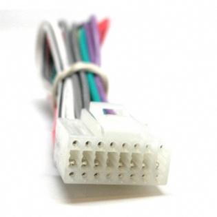 Fujitsu Ten Eclipse Cd Radio 16 Pin Wire Harness New