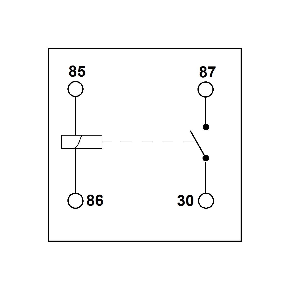 Standard 12 Volt Relay with Detachable Bracket