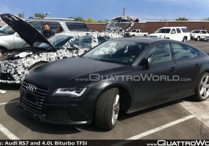 Audi Biturbo Engine