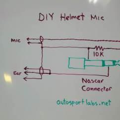 Car Stereo Wiring Diagram Trailer Light Dodge Ram Helmet Mic - Autosport Labs