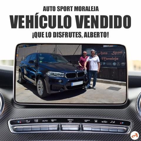 Alberto cumple su sueño: ya tiene su BMW X6