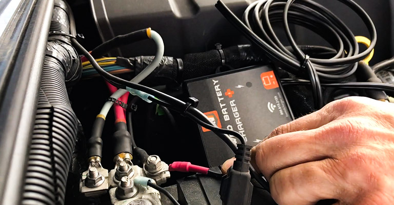 How Does a Towed Car Battery Charge Line Work FI