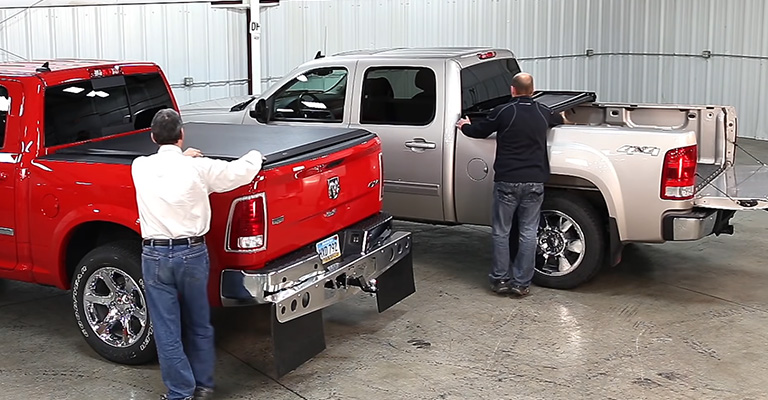 Which Is Better Tri-Fold or Roll-up Tonneau Cover