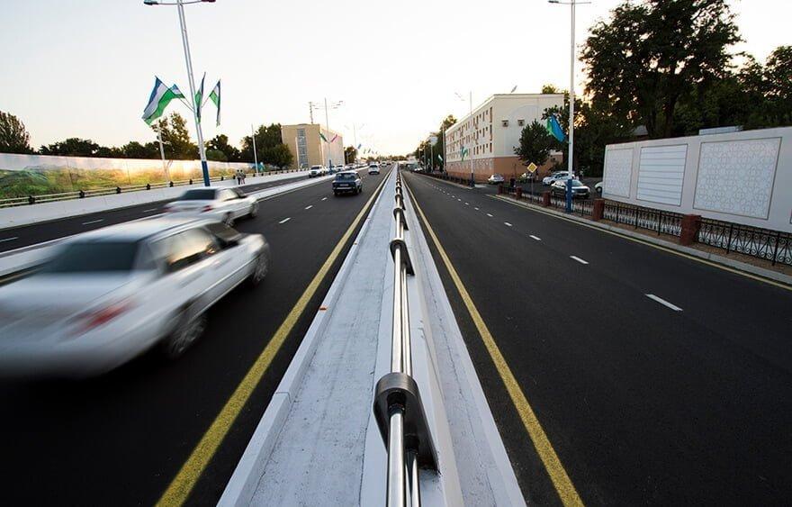 Дорога в Ташкенте