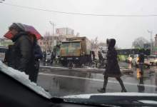 ДТП Инкассатор Автобус Ташкент